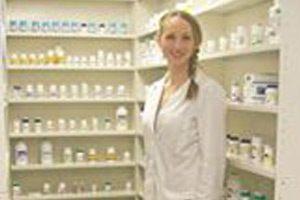 Photo of Jill in Pharmacy
